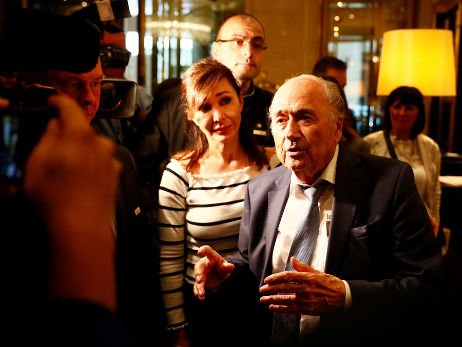 Former FIFA boss Blatter claims Qatar cheated to host World Cup