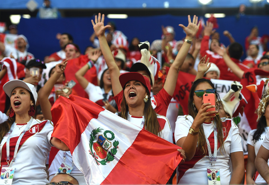 Peru crunch World Cup clash against France brings country to standstill (VIDEO)
