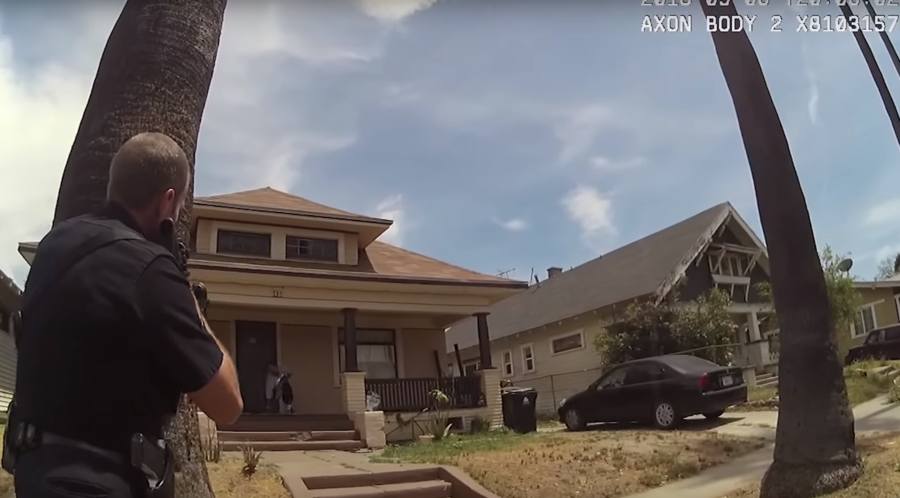 'Heavily-edited' bodycam footage of suspect's final hrs released by LAPD