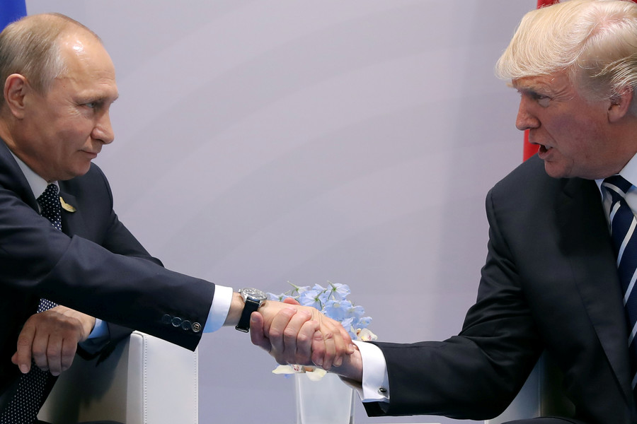 'Forget sanctions, G7 & Assad  – Trump-Putin summit should focus on America's Ukraine interference'