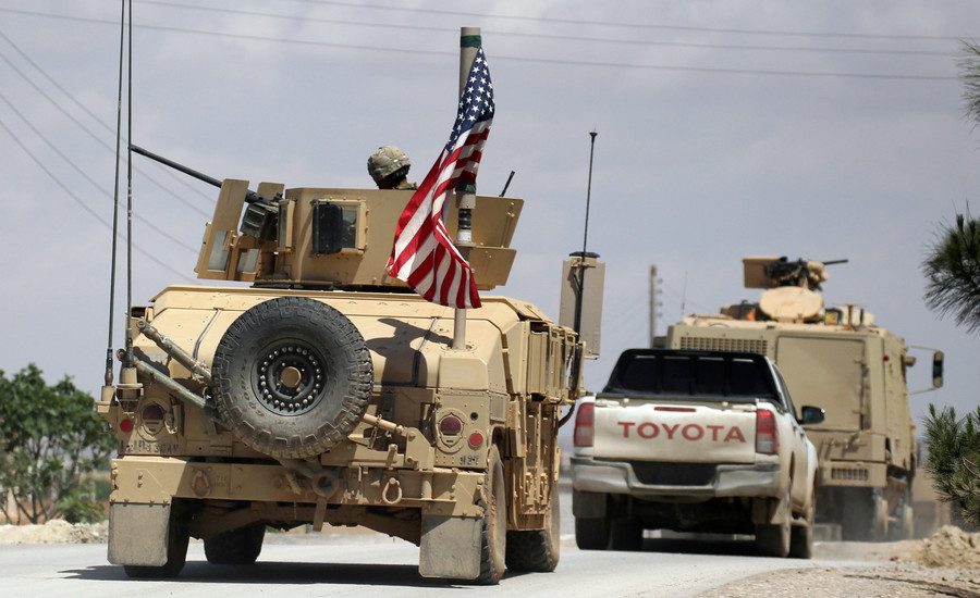 US military advisers came under attack in Syria's Al-Tanf – coalition