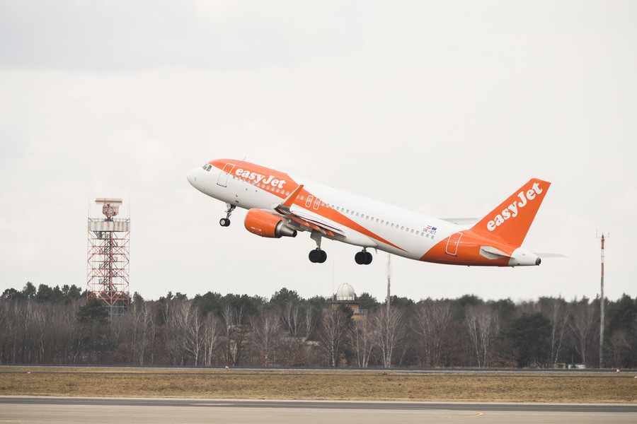 Nazi-saluting drunk tries to escape on tug vehicle after EasyJet rampage