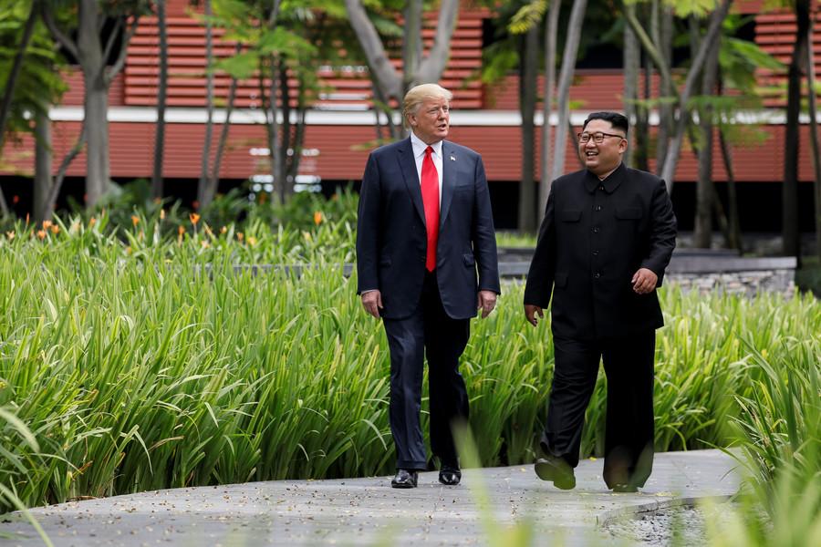 Trump says he trusts Kim, cites 'good chemistry' & 'very good relationship' (VIDEO)