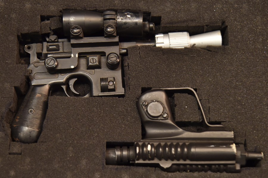 Blaster beats lightsaber: Han Solo's iconic weapon from Return of the Jedi sold for $550,000