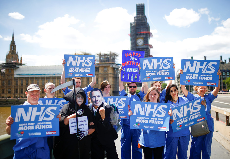 Firms like Richard Branson's Virgin Care are part of Tory plan to privatize NHS – top GP