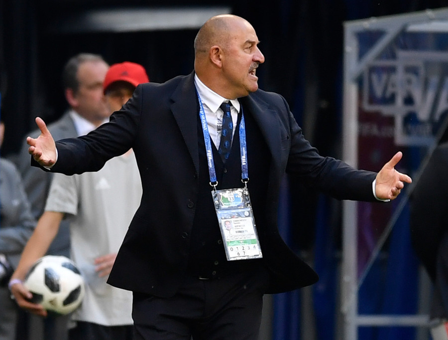 'Getting a slap can be useful' – Russia boss Cherchesov on Uruguay defeat