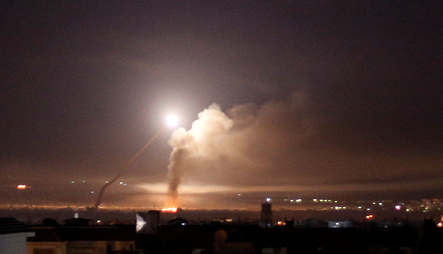 '2 Israeli missiles' strike near Damascus airport – Syrian state media