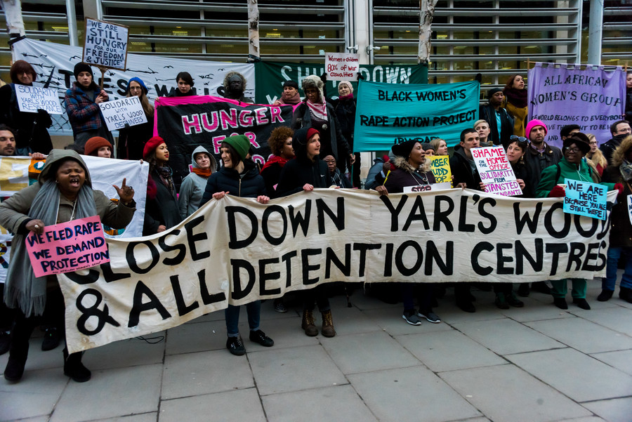 'Only closures can end sexual harassment at immigration centers' as cases soar by 600%