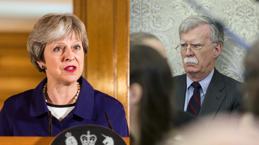 Trump's top hawk John Bolton tells UK to up defense spending ahead of NATO summit