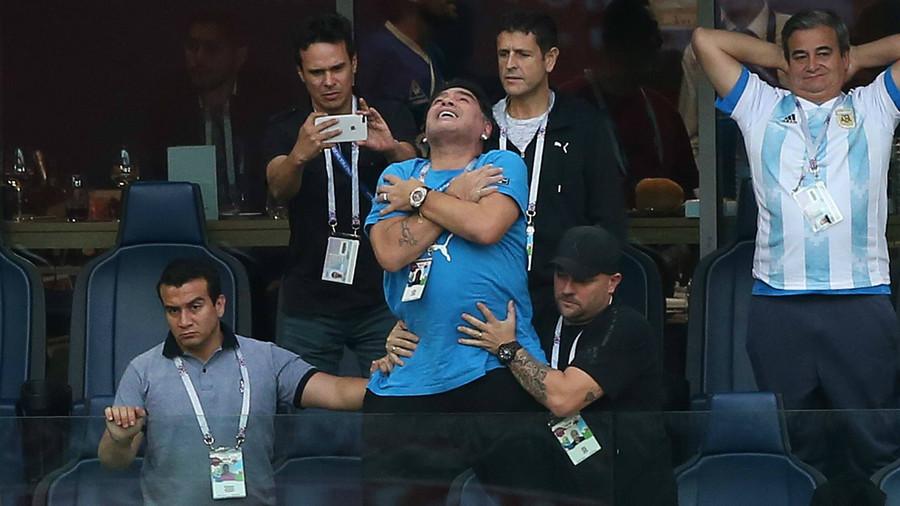 'An attempt against the nation': Diego Maradona slams attack on Venezuelan President Maduro