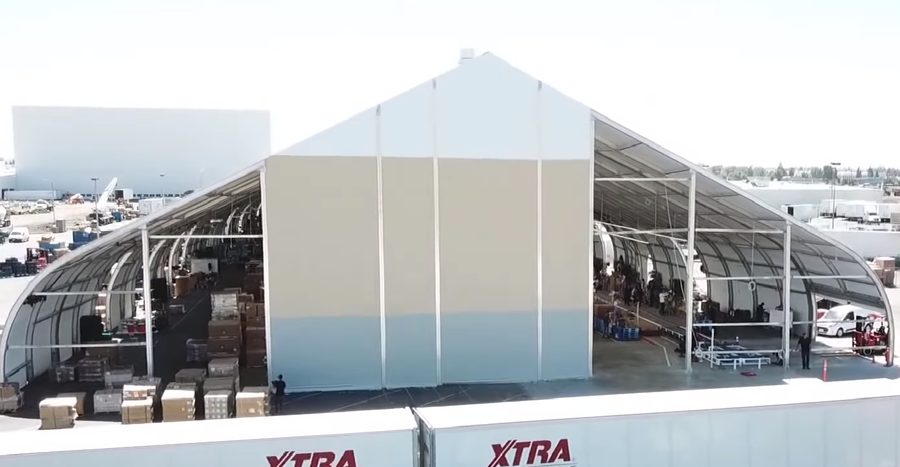 Tesla's car-production tent embarrassingly dubbed 'stone age of auto manufacturing' (VIDEO)