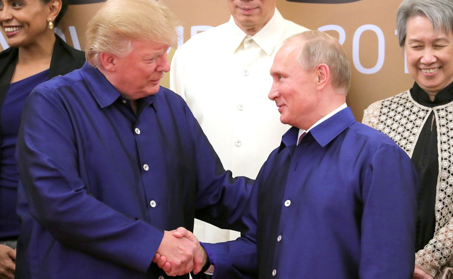 Putin-Trump news