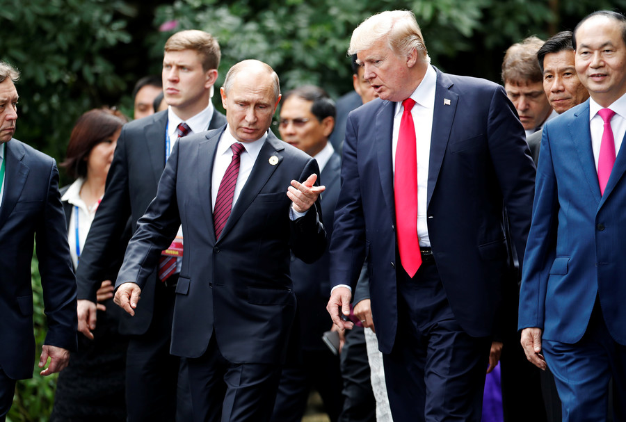 Putin-Trump meeting set for July 16 in Helsinki, Kremlin confirms