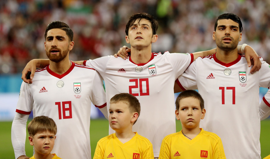Iran's Sardar Azmoun announces international retirement after World Cup abuse