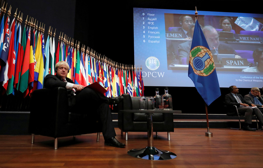 Empowering the OPCW to 'assign blame' in Syria only serves western regime-change agenda