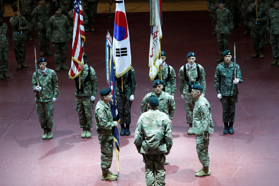 Pentagon relocates US Army HQ from Seoul after 70+ years