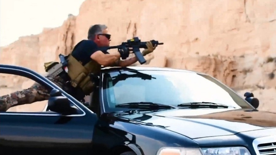 Jordan's King & Crown Prince team up for live-fire action movie (VIDEO)