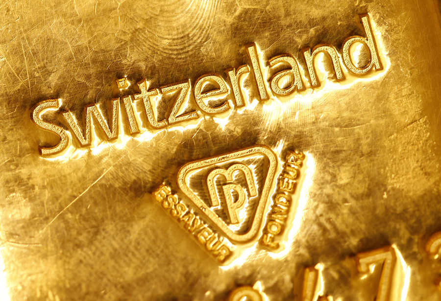 Switzerland chooses gold bullion over paper wealth backed by US dollar