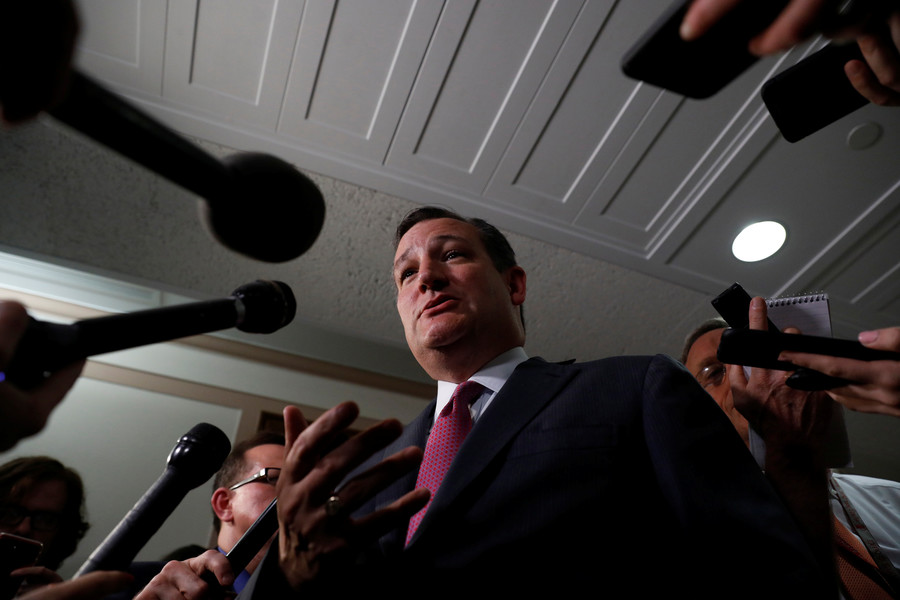 'This bigoted fool should get ZERO votes': Ted Cruz backs Democrat over Nazi GOP in Illinois