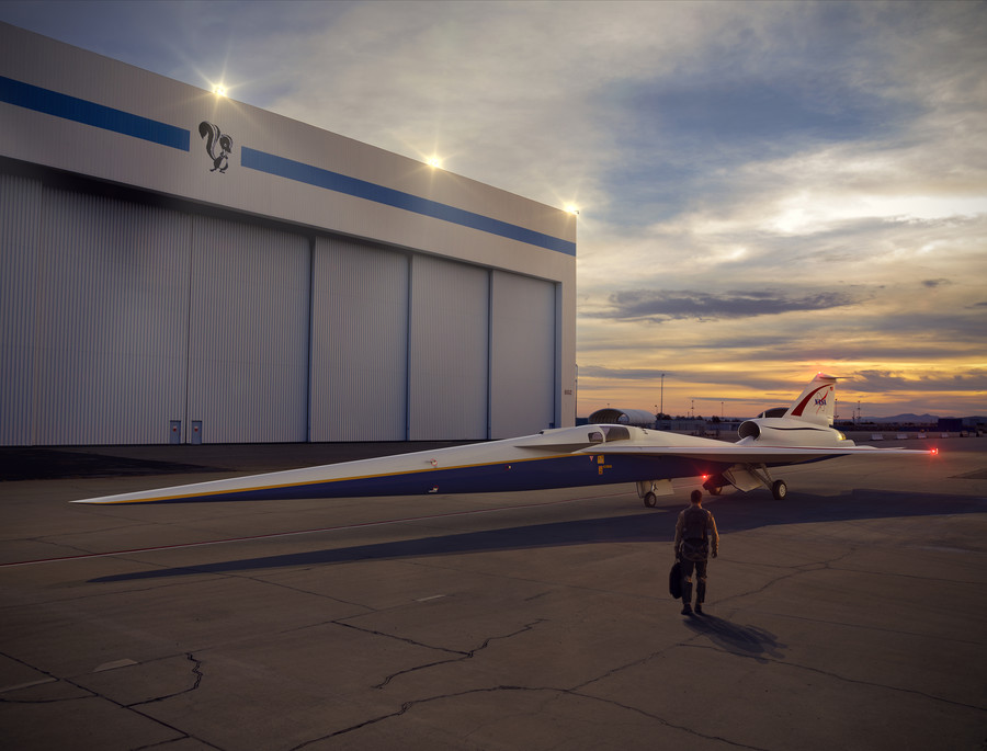 Shhh… NASA's supersonic silent aircraft gets name reflecting long QueSST to make it