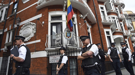 5b10d2fcdda4c8da0b8b4639 Ecuador will respect Assange's asylum right if he obeys 'no politics' condition