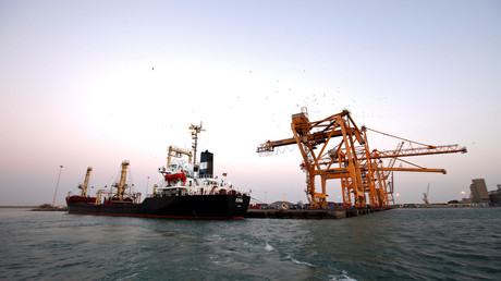 Red Sea port of Hodeidah © Abduljabbar Zeyad