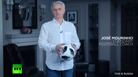 Jose Mourinho leads diverse cast of stars for RT World Cup promo (VIDEO)