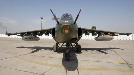 Ukrainian fighter jet in jaw-dropping low-flying beach stunt (VIDEO)