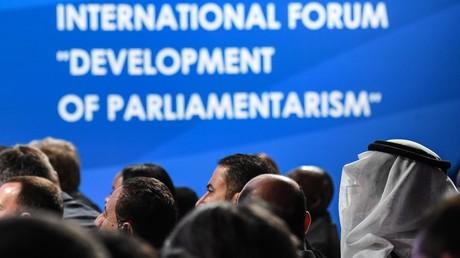 Participants in the International Parliamentarism Forum © Grigoriy Sisoev