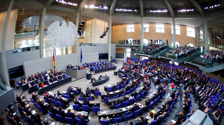 Germany's Lower House of Parliament.  © Hannibal Hanschke / Reuters
