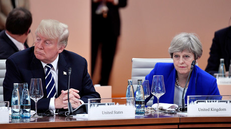 No formal meeting between Trump & 'schoolmistress' May at G7 summit - reports