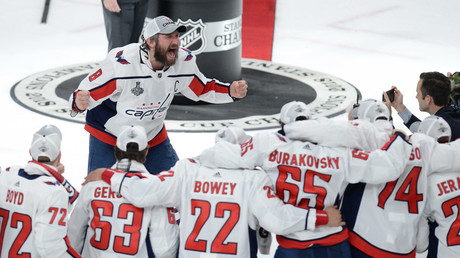 Washington Capitals win 1st Stanley Cup in franchise history, defeating Vegas 4-3