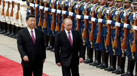 Putin & Xi make statement as countries strive for closer ties (WATCH LIVE)