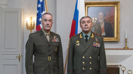 5b1b05e6dda4c812718b4602 Details unknown: Top generals from US & Russia have 'constructive' talks in Finland