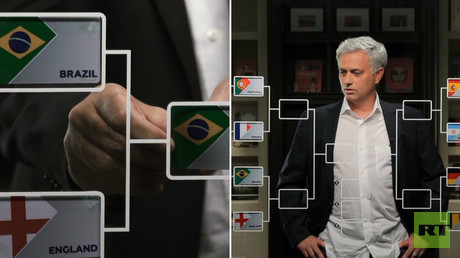 Jose Mourinho predicts World Cup quarter-final heartache for England against Brazil