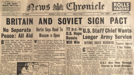 'Thank God for Russia!' Remembering when London & Moscow were allies