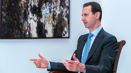 Assad: Hezbollah not leaving Syria yet, war against terrorism to continue