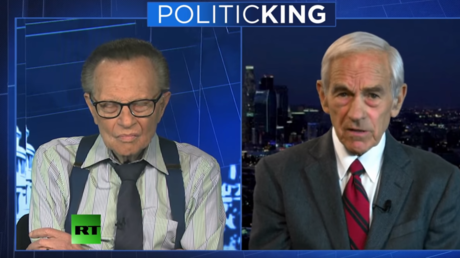 Ron Paul sounds off on Trump, tariffs and US 'secret government'