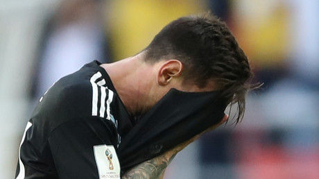 'Somewhere, Ronaldo is winking': Social media piles in on penalty-missing Messi after poor match