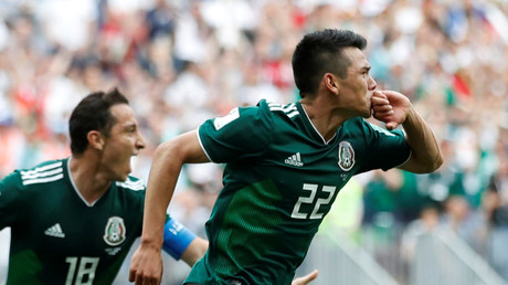 Mexico 1-0 Germany: 'Chucky' goal topples reigning champions at raucous Luzhniki
