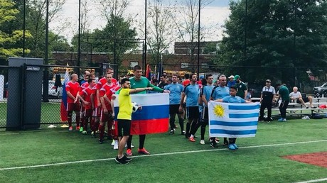 Russian embassy beats Uruguay at opening match of 'DC World Cup' in Washington (VIDEOS)