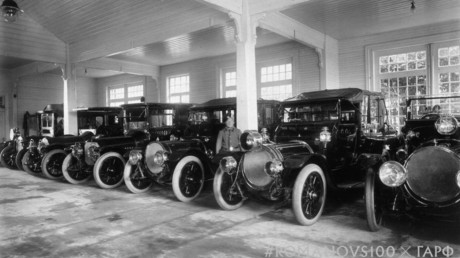#Romanovs100: Europe's grandest car park owned by Nicholas II