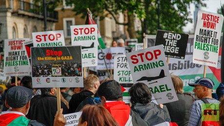 UK 'complicit' in killing Palestinians by selling arms to Israel - War on Want