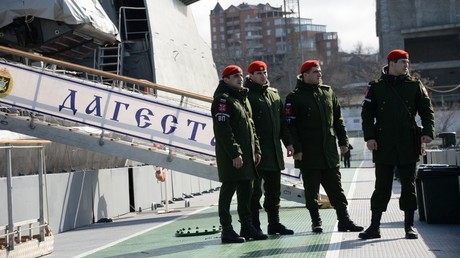 Russian navy unveils plan for specialized military police
