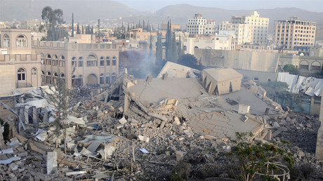 Destruction of Yemen
