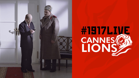 RT's #1917LIVE social media project 3-time finalist at Cannes Lions