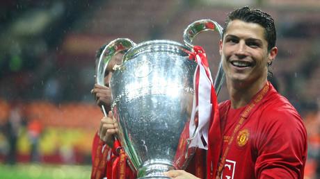 5b2a3f26dda4c8e20d8b457f Return of the king: Ronaldo graces Luzhniki 10 yrs after 1st Champions League win in stadium