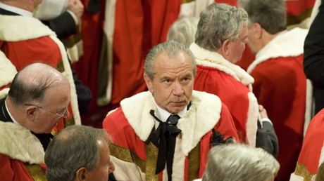 Lord Alan Sugar in House of Lords garb © Paul Edwards