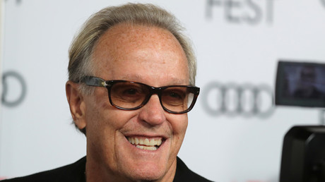 Actor Peter Fonda suggests Trump's son should be put 'in a cage with pedophiles' in a Twitter rant