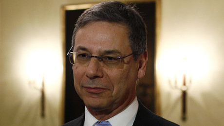 Occupational hazards? Daniel Ayalon, former deputy foreign minister of Israel